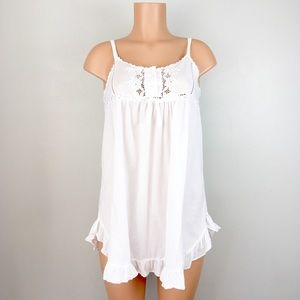 Vintage Victoria's Secret Cotton Nightgown Nightie